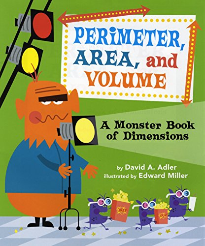 9780823427635: Perimeter, Area, and Volume: A Monster Book of Dimensions