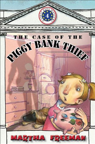 9780823429165: The Case of the Piggy Bank Thief: First Kids Mystery #4