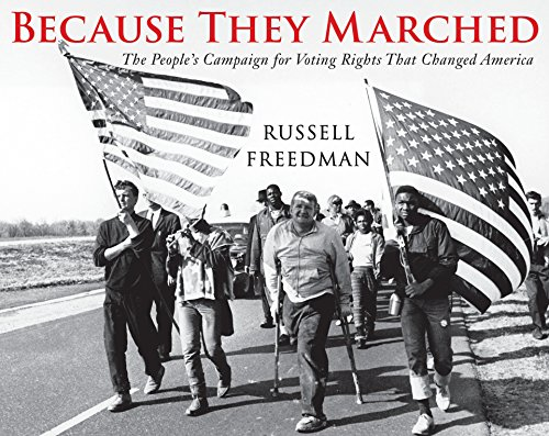9780823429219: Because They Marched: The People's Campaign for Voting Rights that Changed America