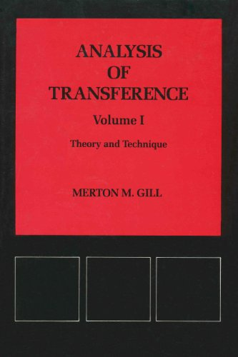 Analysis of Transference: Theory and Technique