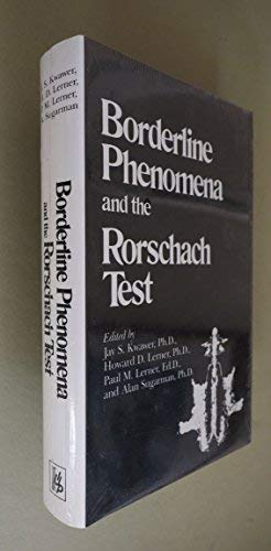9780823605774: Borderline Phenomena and the Rorschach Test
