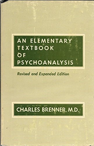 9780823616206: Elementary Textbook of Psychoanalysis