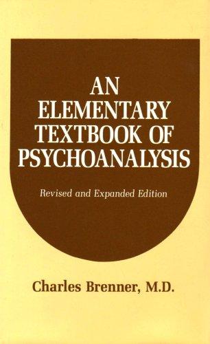 9780823616213: An Elementary Textbook of Psychoanalysis