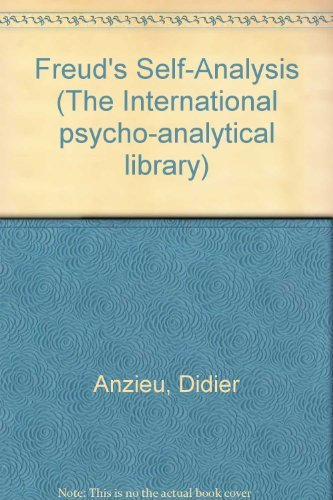 9780823620456: Freud's Self-Analysis (The International Psycho-Analytical Library ; No. 118) (English and French Edition)