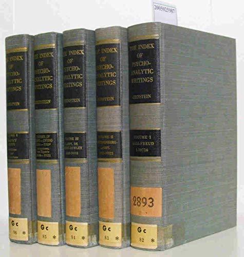 9780823625659: Index of Psychoanalytic Writings: 5