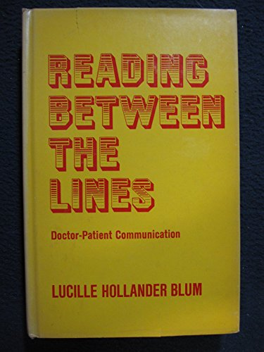 9780823657704: Reading Between the Lines: Doctor-Patient Communication