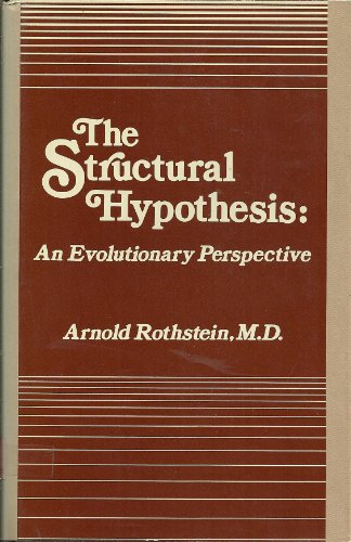 9780823661756: The Structural Hypothesis: An Evolutionary Perspective