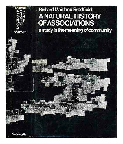 9780823684038: Natural History of Associations: A Study in the Meaning of Community