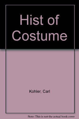 9780823802951: A History of Costume
