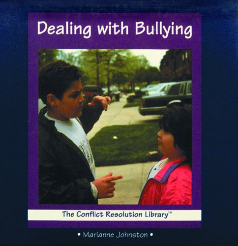 9780823923748: Dealing With Bullying (The Conflict Resolution Library)