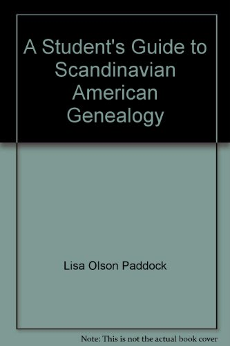 9780823925988: A Student's Guide to Scandinavian American Genealogy