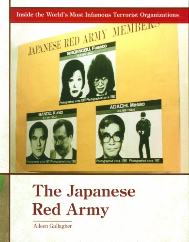 9780823938230: The Japanese Red Army (Inside the World's Most Infamous Terrorist Organizations)