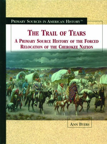 9780823940073: The Trail of Tears: A Primary Source History of the Forced Relocation of the Cherokee Nation (Primary Sources in American History)