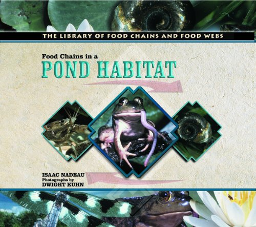 9780823957637: Food Chains in a Pond Habitat (Library of Food Chains and Food Webs)