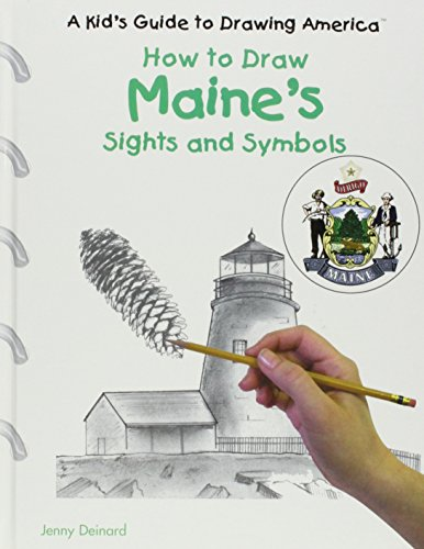 9780823960750: Maine's Sights and Symbols (Kid's Guide to Drawing America)