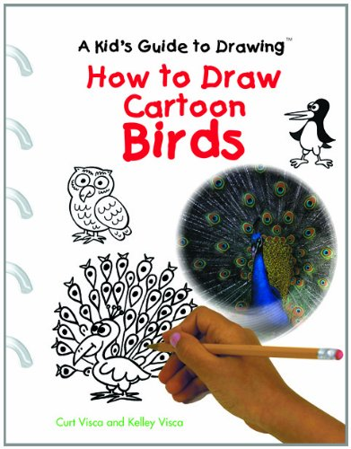 9780823961566: How to Draw Cartoon Birds (Kid's Guide to Drawing)