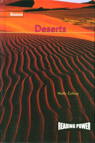 Deserts (Biomes): Cefrey, Holly