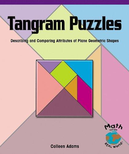 9780823974498: Tangram Puzzles: Describing and Comparing Attributes of Plane Geometric Shapes (Prepack of 6) (Powermath)
