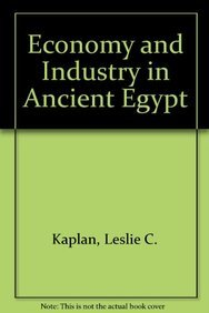 9780823974764: Economy and Industry in Ancient Egypt