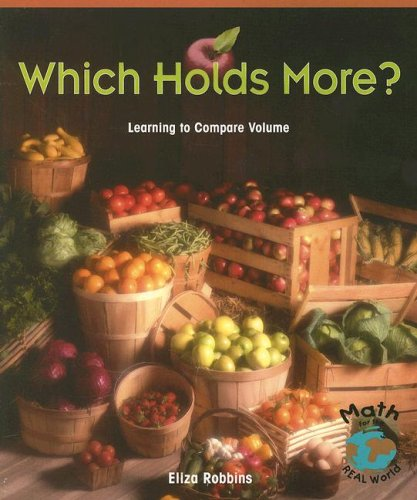 Which Holds More?: Learning to Compare Volume: Robbins, Eliza