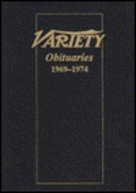 9780824008413: Variety Obituaries, 1969-74