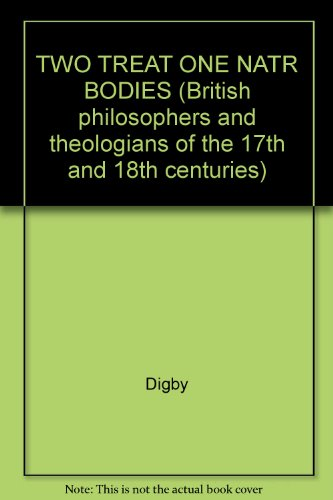 9780824017712: Two Treatises 1644 (British philosophers and theologians of the 17th and 18th centuries)