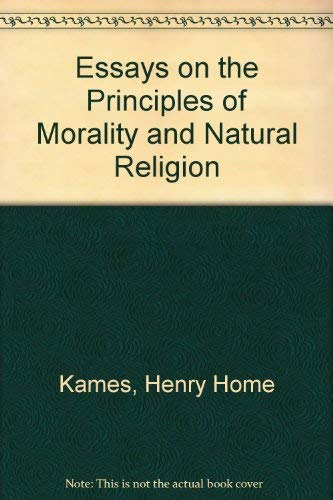 9780824017811: ESSAY PRINCPL MORALITY (British philosophers and theologians of the 17th & 18th centuries)