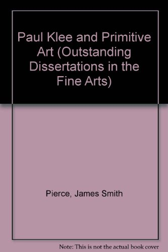 9780824020019: Paul Klee and Primitive Art (Outstanding Dissertations in the Fine Arts)