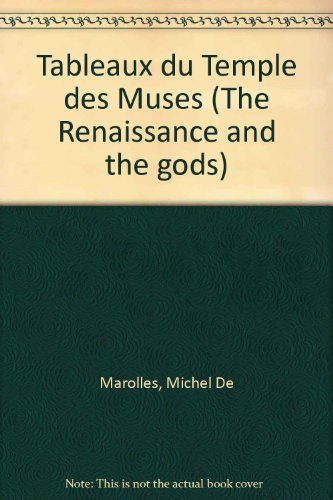 9780824020804: Tableaux du Temple des Muses (The Renaissance and the gods)