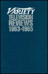 Variety Television Reviews, Vol. 8 (1963-65)