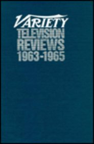 Variety Television Reviews, Vol. 8 (1963-65)