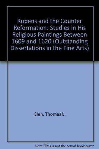 9780824026929: Rubens and the Counter Reformation: Studies in His Religious Paintings Between 1609 and 1620
