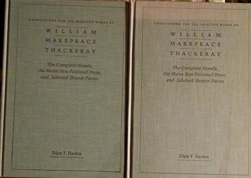 Annotations for the Selected Works of William: Harden, Edgar F.