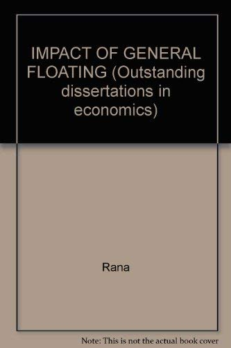 The Impact of Generalized Floating on Trade Flows and Reserve Needs: Selected Asian Developing ...