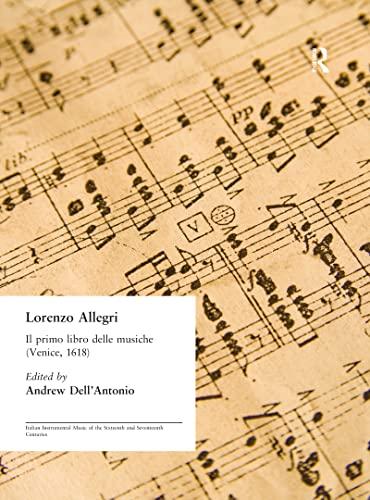 9780824045265: Lorenzo Allegri: Il primo libro delle musiche. . . (Venice, 1618)