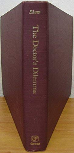 9780824045845: The Doctor's Dilemma (Bernard Shaw Early Texts: Play Manuscripts in Facsimile)