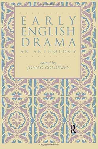 9780824046996: Early English Drama: An Anthology (Garland Reference Library of the Humanities)