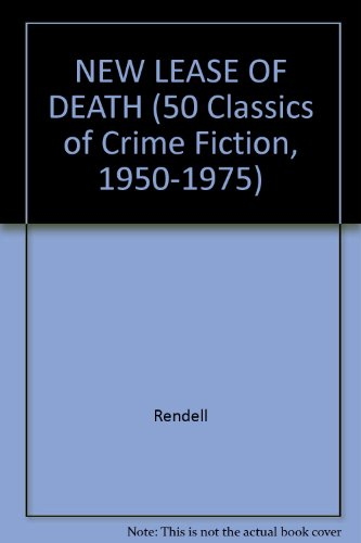 9780824049980: NEW LEASE OF DEATH (50 Classics of Crime Fiction, 1950-1975)
