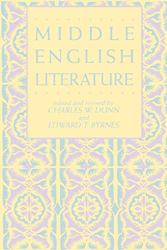 9780824052973: Middle English Literature (Garland Reference Library of the Humanities)