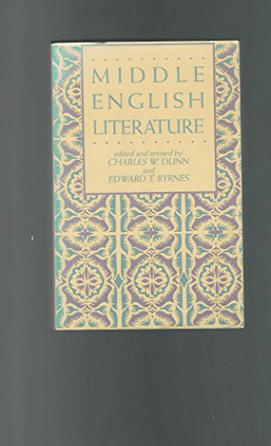 9780824052980: Middle English Lit Hc (Modern American History)