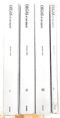 9780824055264: Degas Oeuvre 4 Vols