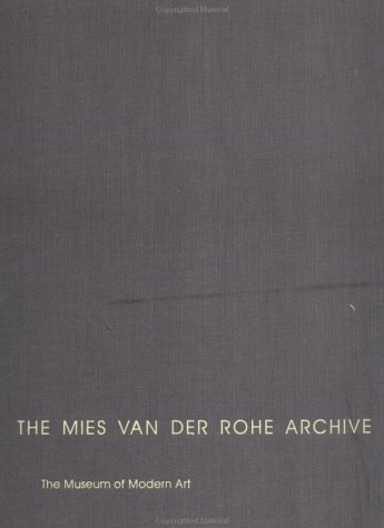 9780824059958: The Mies Van Der Rohe Archive: Metallurgical & Chemical Engineering Building (Perlstein Hall) & Other Buildings & Projects (Perlstein Hall and Other Buildings and Projects)