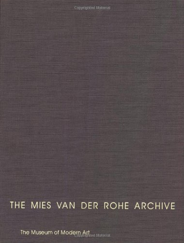 9780824059965: The Mies Van Der Rohe Archive: Robert F. Carr Memorial Chapel of Saint Savior, S. R. Crown Hall, & Other Buildings & Projects