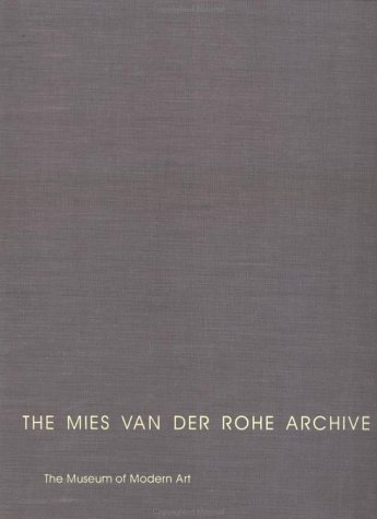 9780824059972: The Mies Van Der Rohe Archive, Part II Vol. 13: Cantor Drive-In Restaurant, Farnsworth (Garland Architectural Archives)
