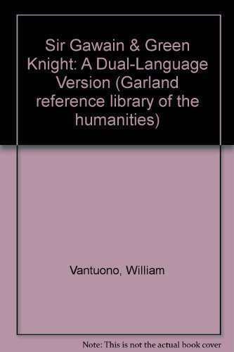 9780824061050: Sir Gawain & Green Knight (Garland Reference Library of the Humanities)