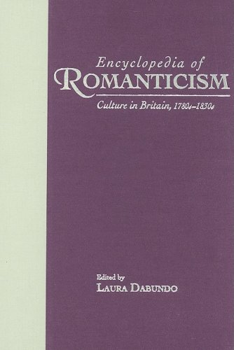 9780824069971: Encyclopedia of Romanticism: Culture in Britain, 1780s-1830s (Garland Reference Library of the Humanities)