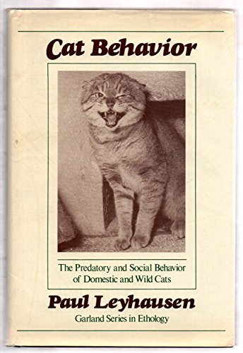 9780824070175: Cat Behavior: The Predatory and Social Behavior of Domestic and Wild Cats (Garland series in ethology)