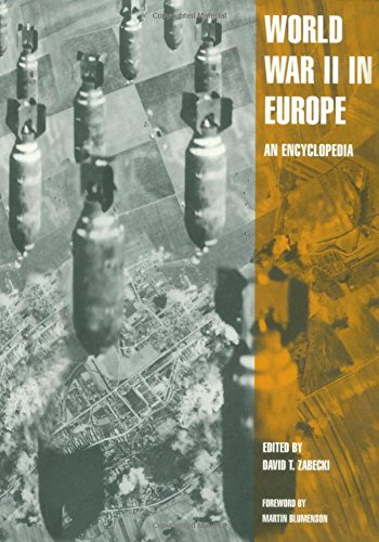 9780824070298: World War II in Europe: An Encyclopedia (Military History of the United States)