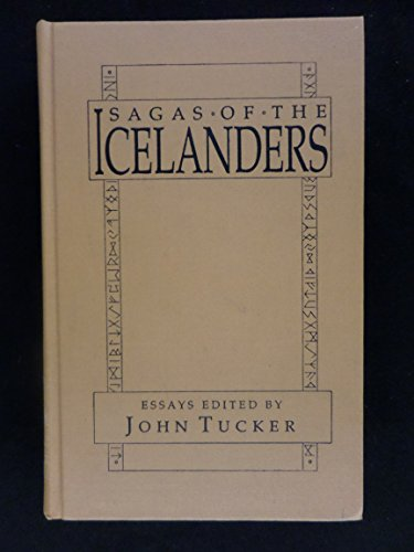 9780824083878: Sagas of the Icelanders: A Book of Essays (Garland Reference Library of the Humanities)