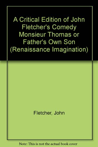 9780824084042: JOHN FLETCHER'S COMEDY (Renaissance Imagination)